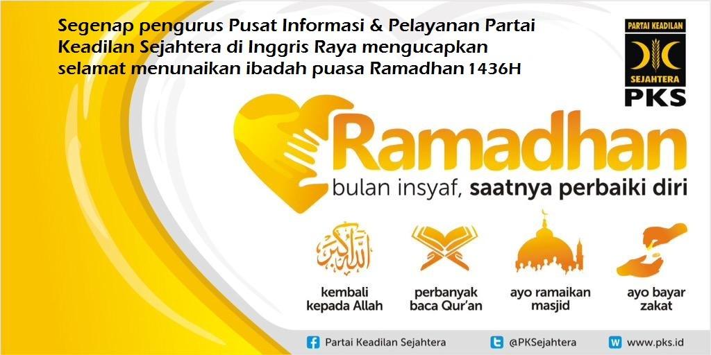 Ramadhan 1436 PKS UK