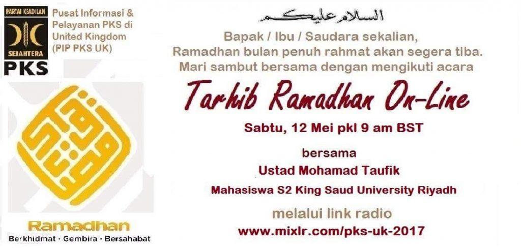 Tarhib Ramadan 1439H